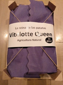 Comprar patatas violetas