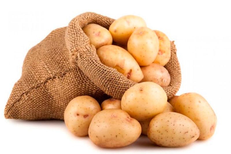 almacenar patatas