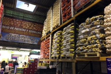comercio de patatas y cebollas