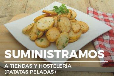 Comercio de Patatas y Cebollas Suministros a tiendas y hostelería